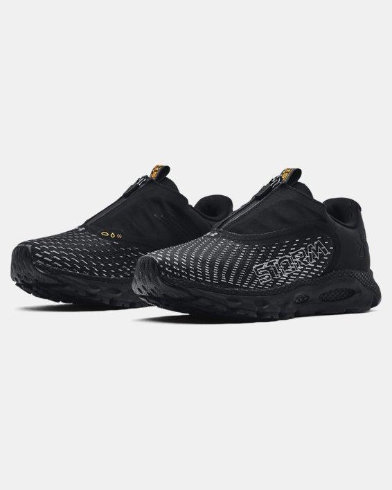 Women's UA HOVR™ Infinite 3 Storm Running Shoes, Black, pdpMainDesktop image number 3