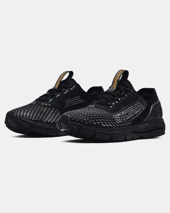 Women's UA HOVR™ Sonic 4 Storm Running Shoes, Black, pdpMainDesktop image number 3