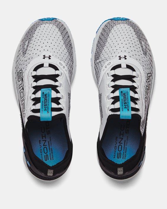 Women's UA HOVR™ Sonic 4 Storm Running Shoes, Gray, pdpMainDesktop image number 2