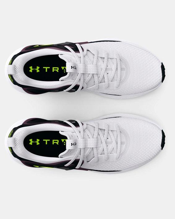 Women's UA HOVR™ Apex 3 Training Shoes, White, pdpMainDesktop image number 2