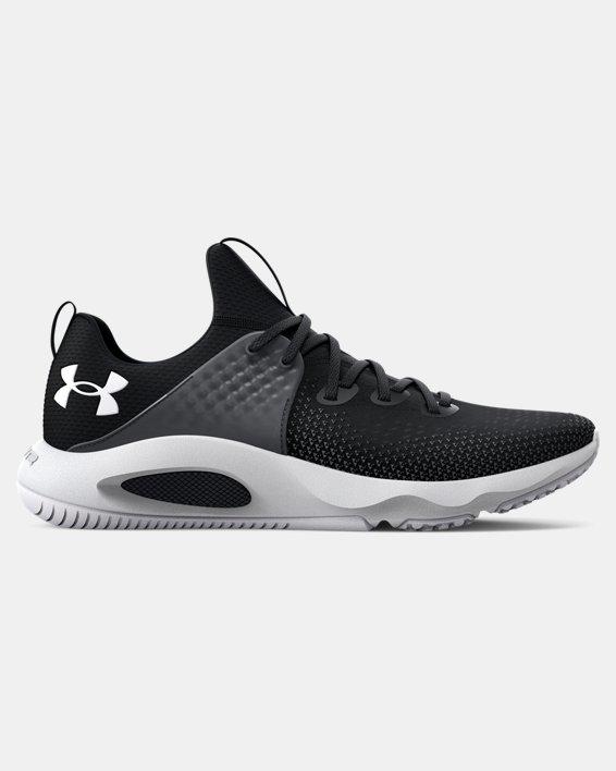 Men's UA HOVR™ Rise 3 Training Shoes, Black, pdpMainDesktop image number 0