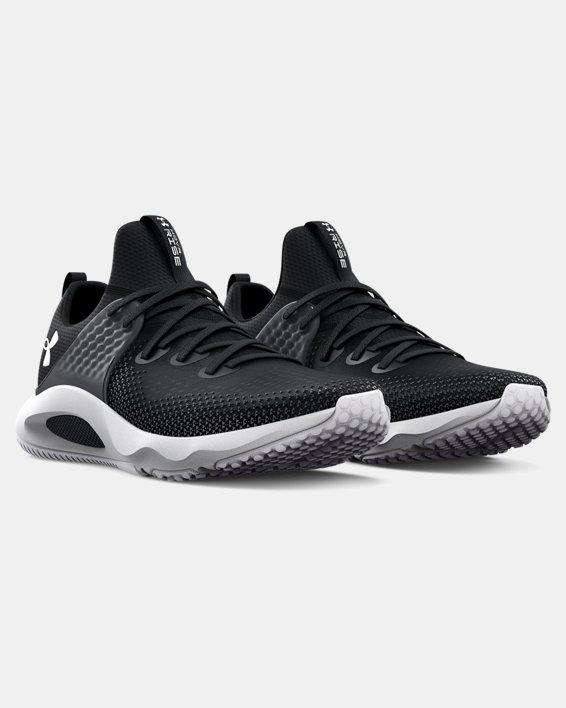 Men's UA HOVR™ Rise 3 Training Shoes, Black, pdpMainDesktop image number 3