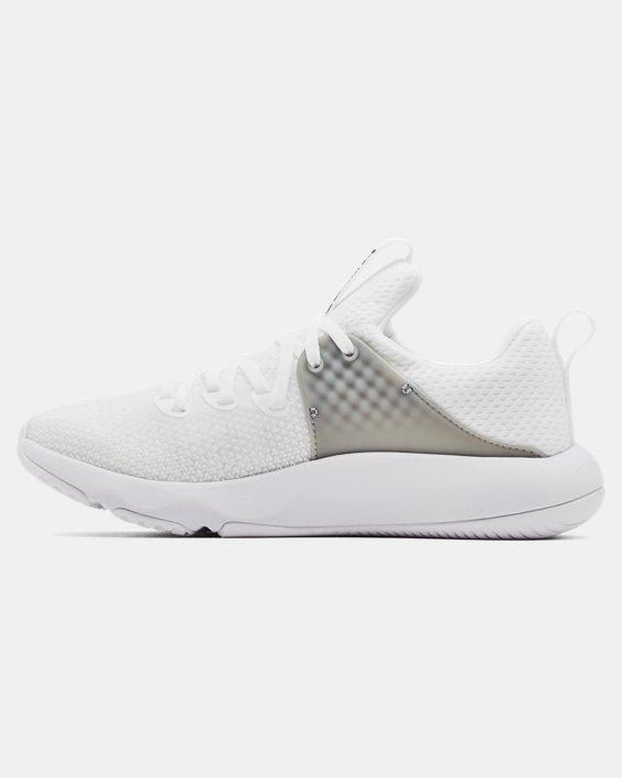 Women's UA HOVR™ Rise 3 Training Shoes, White, pdpMainDesktop image number 1