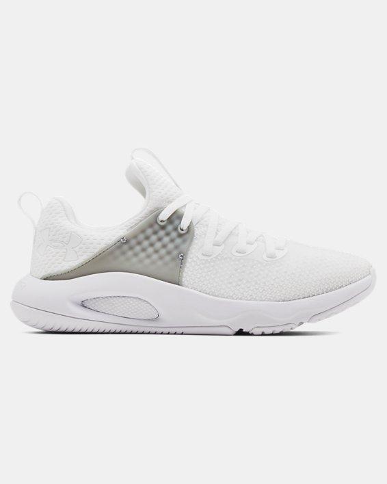 Women's UA HOVR™ Rise 3 Training Shoes, White, pdpMainDesktop image number 0