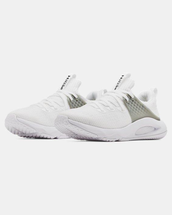 Women's UA HOVR™ Rise 3 Training Shoes, White, pdpMainDesktop image number 3