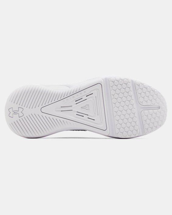 Women's UA HOVR™ Rise 3 Training Shoes, White, pdpMainDesktop image number 4
