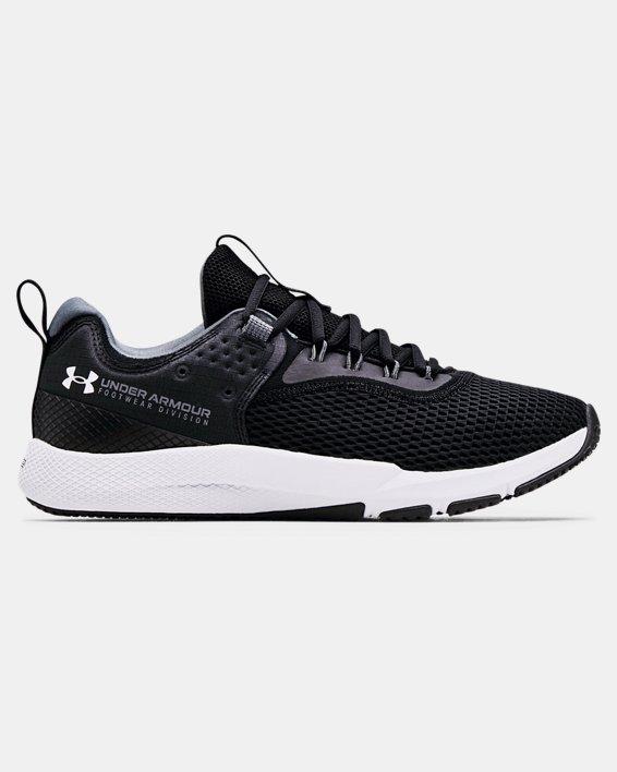 Men's UA Charged Focus Training Shoes, Black, pdpMainDesktop image number 0