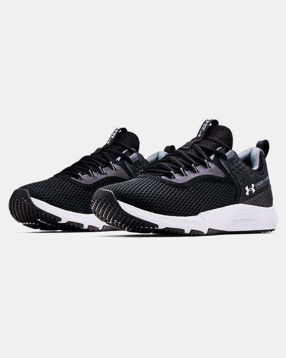 Men's UA Charged Focus Training Shoes, Black, pdpMainDesktop image number 3