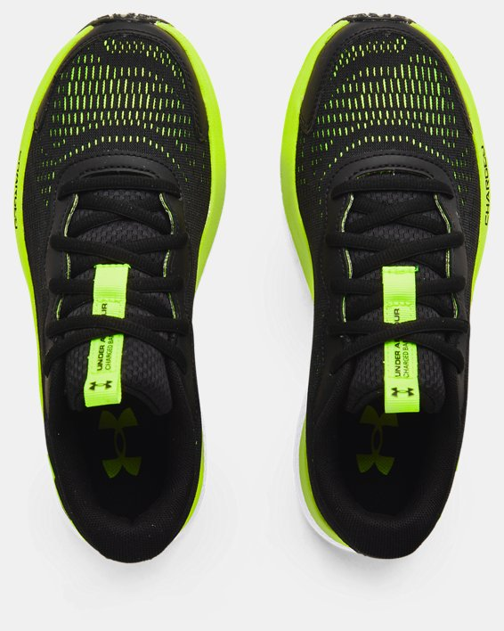 Boys' Grade School UA Charged Bandit 7 Running Shoes, Black, pdpMainDesktop image number 2