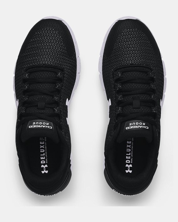 Men's UA Charged Rogue 2.5 Running Shoes, Black, pdpMainDesktop image number 2