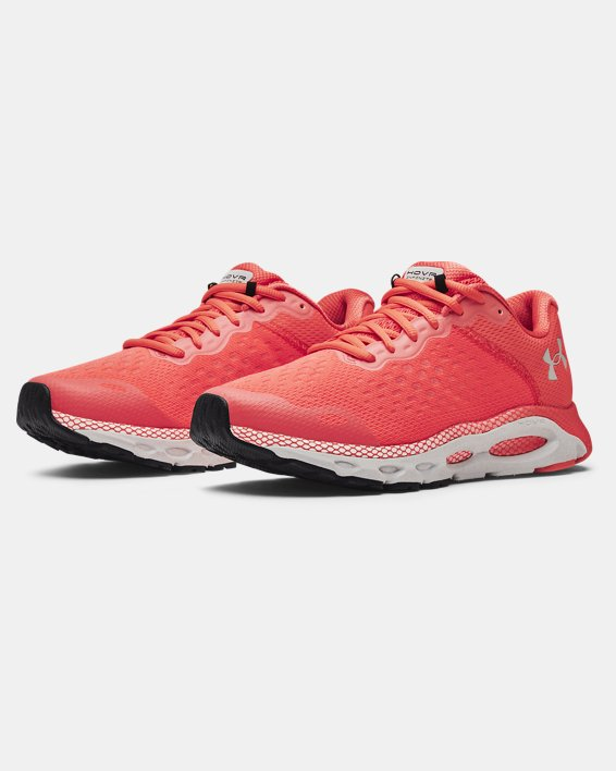 Men's UA HOVR™ Infinite 3 Reflect Running Shoes, Red, pdpMainDesktop image number 3