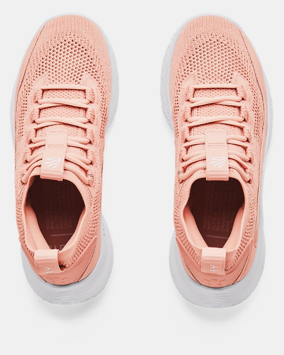 Curry Flow 8 Basketball Shoes, Pink, pdpMainDesktop image number 2