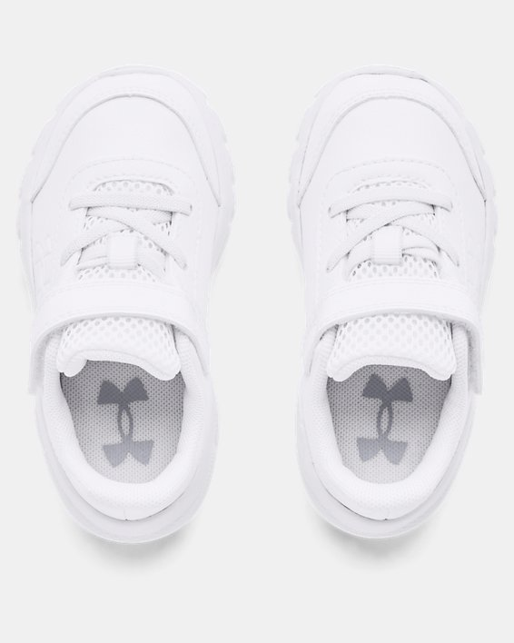 Boys' Infant UA Assert 8 Uniform SYN, White, pdpMainDesktop image number 2
