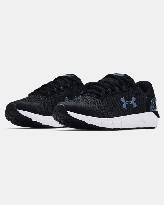 Women's UA Charged Rogue 2.5 Colorshift Running Shoes, Black, pdpMainDesktop image number 2