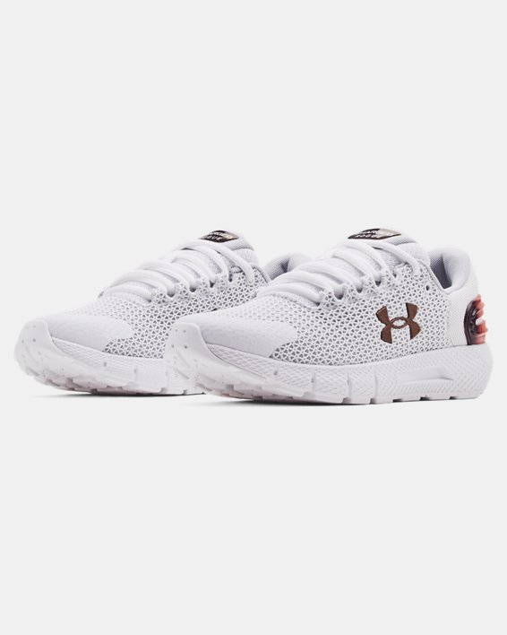 Women's UA Charged Rogue 2.5 Colorshift Running Shoes, White, pdpMainDesktop image number 3