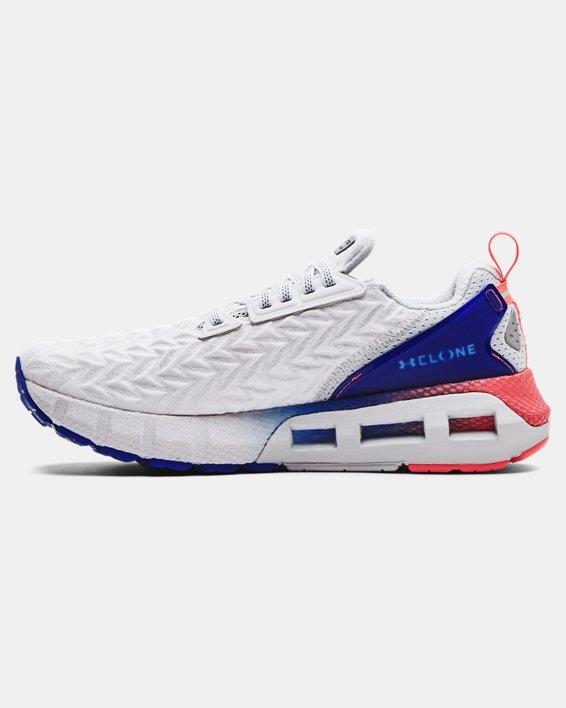 Men's UA HOVR™ Mega 2 Clone Running Shoes, White, pdpMainDesktop image number 1