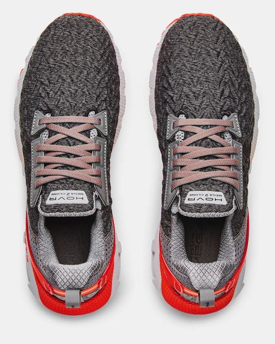 Men's UA HOVR™ Mega 2 Clone Running Shoes, Gray, pdpMainDesktop image number 2