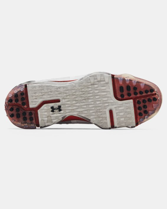 Men's UA Spieth 5 Spikeless Wide E Golf Shoes, White, pdpMainDesktop image number 4