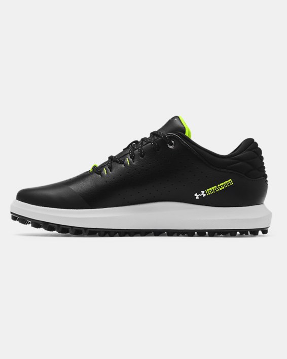 Men's UA Draw Sport Spikeless Wide E Golf Shoes, Black, pdpMainDesktop image number 1