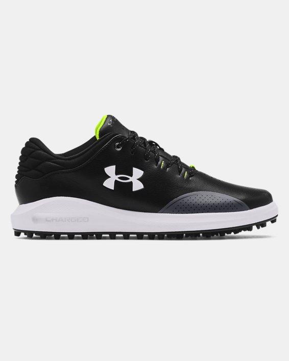 Men's UA Draw Sport Spikeless Wide E Golf Shoes, Black, pdpMainDesktop image number 0