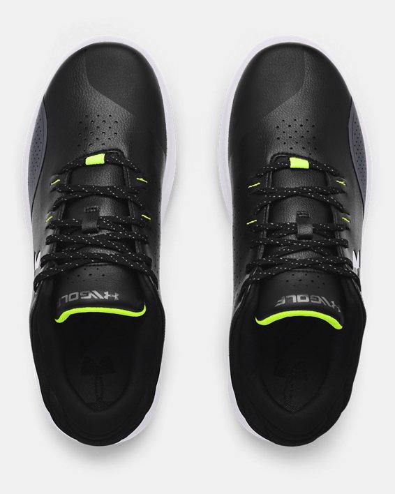 Men's UA Draw Sport Spikeless Wide E Golf Shoes, Black, pdpMainDesktop image number 2