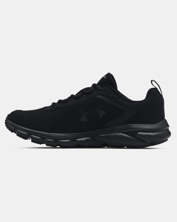 Men's UA Charged Assert 9 Running Shoes, Black, pdpMainDesktop image number 1