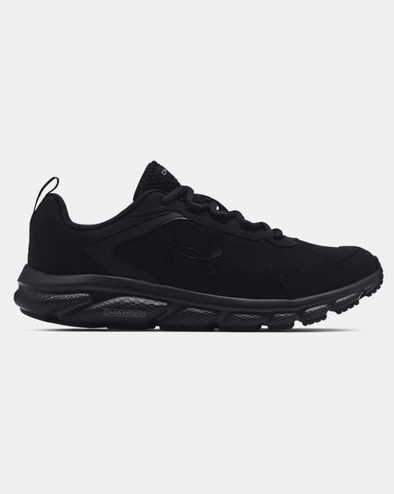 Men's UA Charged Assert 9 Running Shoes, Black, pdpMainDesktop image number 0