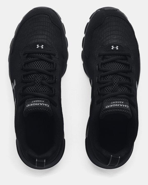 Men's UA Charged Assert 9 Running Shoes, Black, pdpMainDesktop image number 2