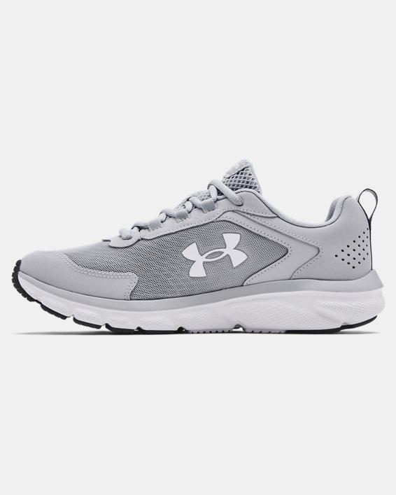 Men's UA Charged Assert 9 Running Shoes, Gray, pdpMainDesktop image number 1