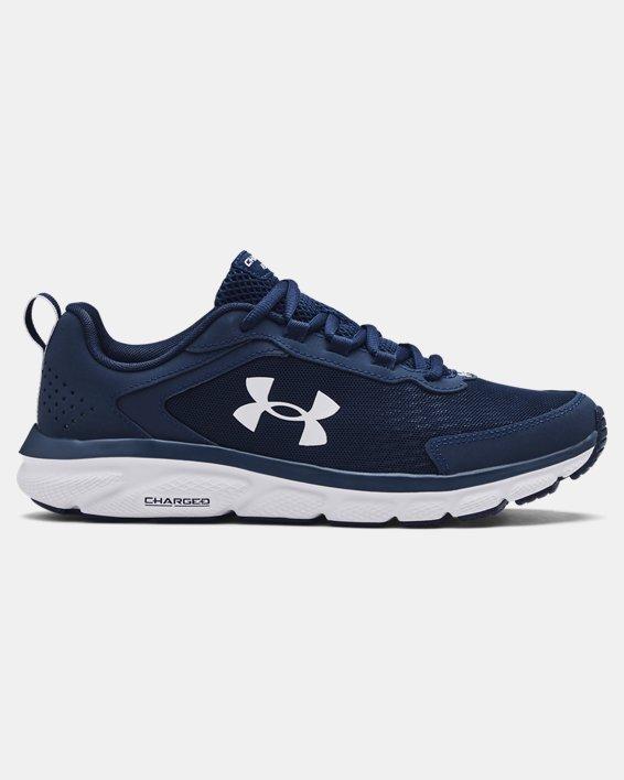 Men's UA Charged Assert 9 Running Shoes, Blue, pdpMainDesktop image number 0