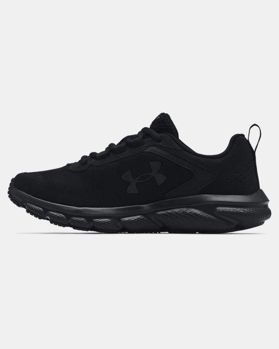 Women's UA Charged Assert 9 Running Shoes, Black, pdpMainDesktop image number 1