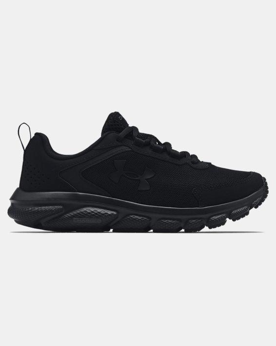 Women's UA Charged Assert 9 Running Shoes, Black, pdpMainDesktop image number 0