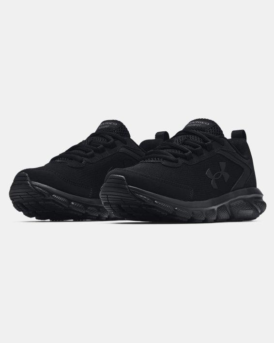 Women's UA Charged Assert 9 Running Shoes, Black, pdpMainDesktop image number 3