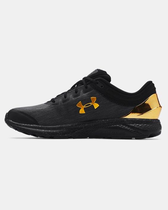 Men's UA Charged Escape 3 EVO Chrome Running Shoes, Black, pdpMainDesktop image number 1