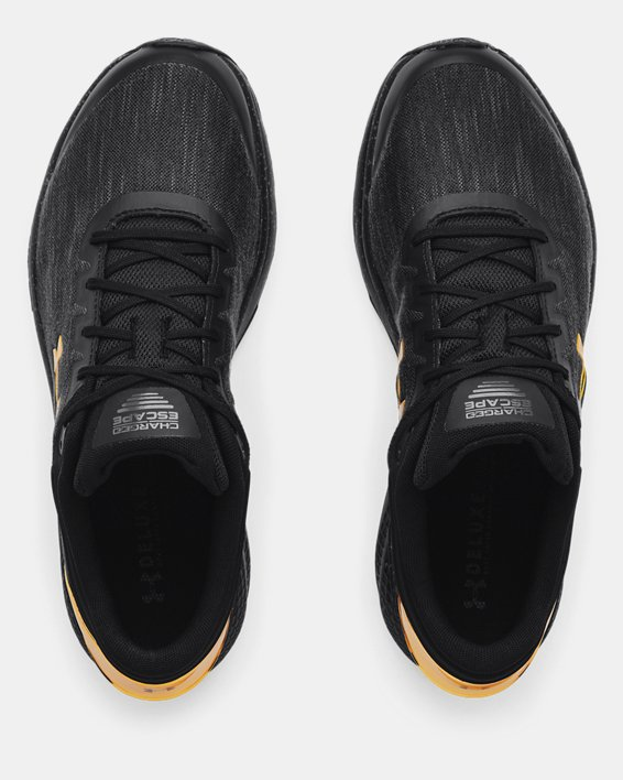 Men's UA Charged Escape 3 EVO Chrome Running Shoes, Black, pdpMainDesktop image number 2