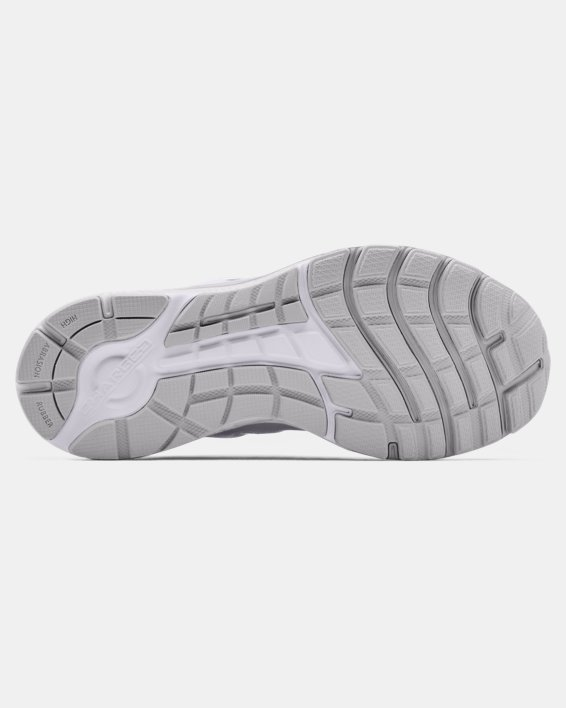 Women's UA Charged Escape 3 EVO Chrome Running Shoes, Gray, pdpMainDesktop image number 4