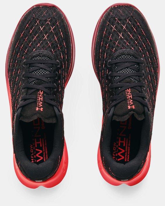 Men's UA Flow Velociti Wind Colorshift Running Shoes, Black, pdpMainDesktop image number 2
