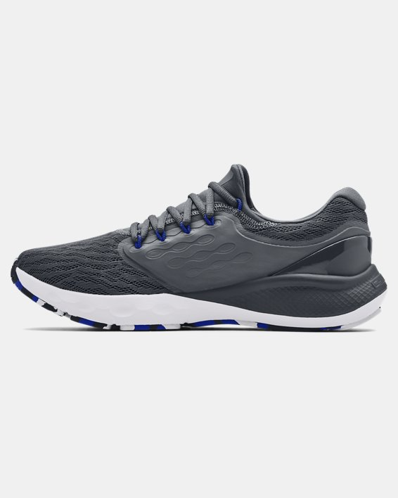 Men's UA Charged Vantage Marble Running Shoes, Gray, pdpMainDesktop image number 1