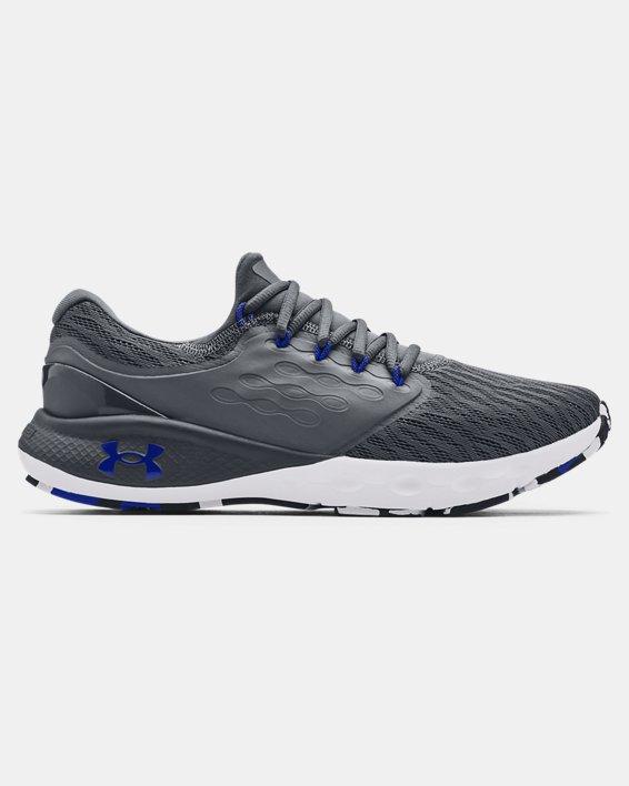 Men's UA Charged Vantage Marble Running Shoes, Gray, pdpMainDesktop image number 0