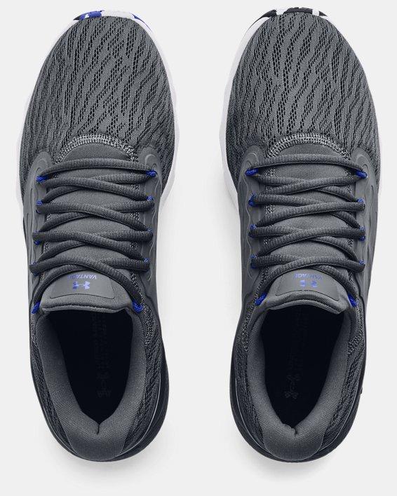 Men's UA Charged Vantage Marble Running Shoes, Gray, pdpMainDesktop image number 2