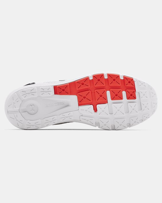 Men's UA Charged Rogue 2.5 Reflect Running Shoes, White, pdpMainDesktop image number 4
