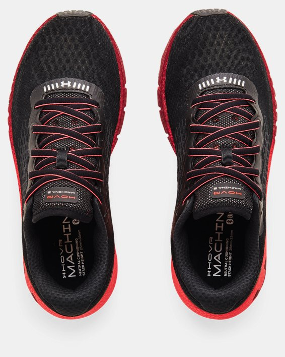 Women's UA HOVR™ Machina 2 Colorshift Running Shoes, Black, pdpMainDesktop image number 2