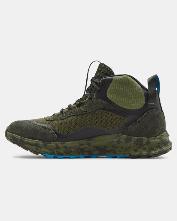 Men's UA Charged Bandit Trek 2 Print Hiking Shoes, Green, pdpMainDesktop image number 1