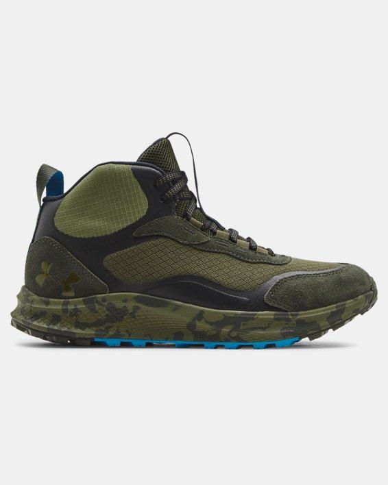 Men's UA Charged Bandit Trek 2 Print Hiking Shoes, Green, pdpMainDesktop image number 0
