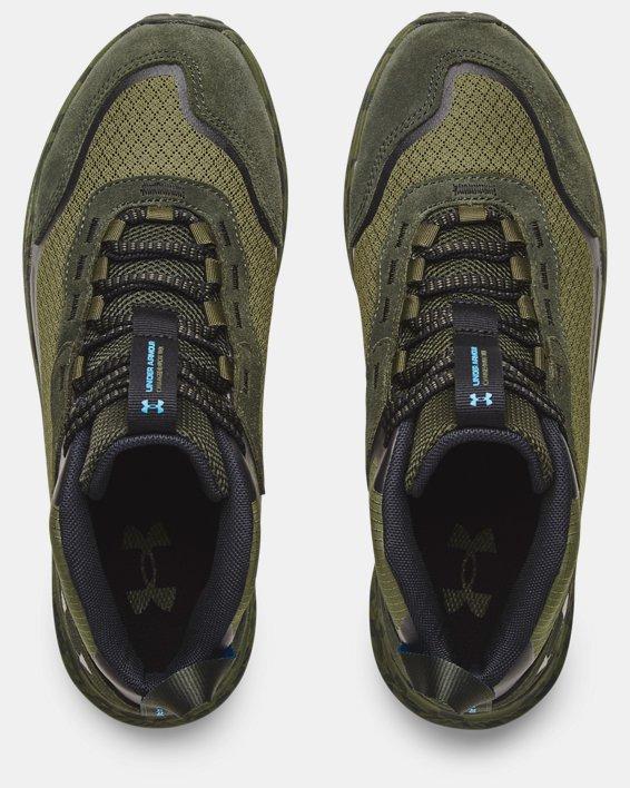 Men's UA Charged Bandit Trek 2 Print Hiking Shoes, Green, pdpMainDesktop image number 2