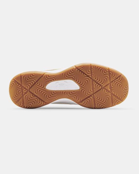 Unisex UA 3Z5 Basketball Shoes, White, pdpMainDesktop image number 4
