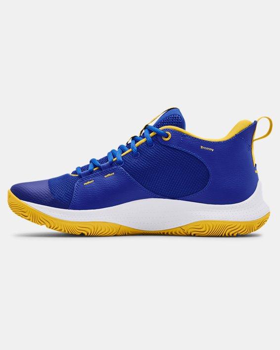 Unisex UA 3Z5 Basketball Shoes, Blue, pdpMainDesktop image number 1