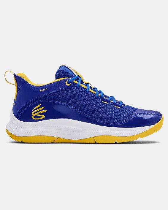 Unisex UA 3Z5 Basketball Shoes, Blue, pdpMainDesktop image number 0