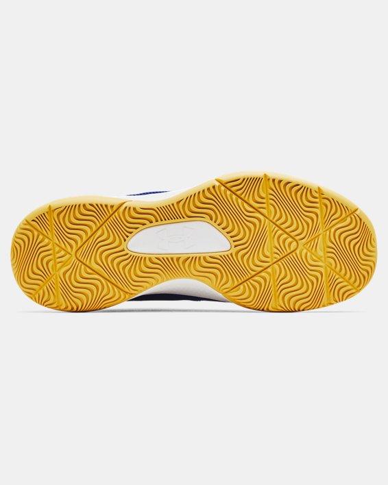Unisex UA 3Z5 Basketball Shoes, Blue, pdpMainDesktop image number 4