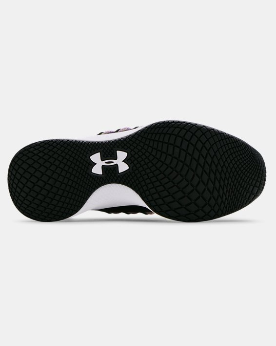 Women's UA Charged Breathe Lace Sportstyle Shoes, Black, pdpMainDesktop image number 4